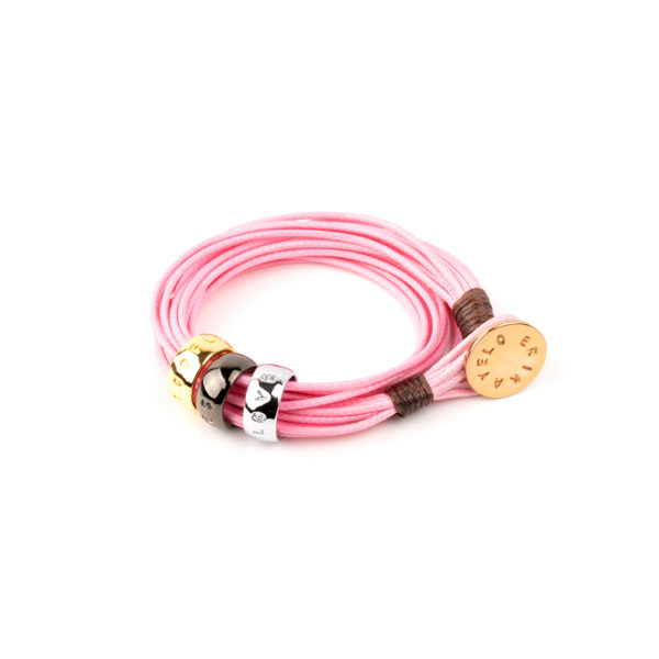 Pulsera Lots Of Love Pink.