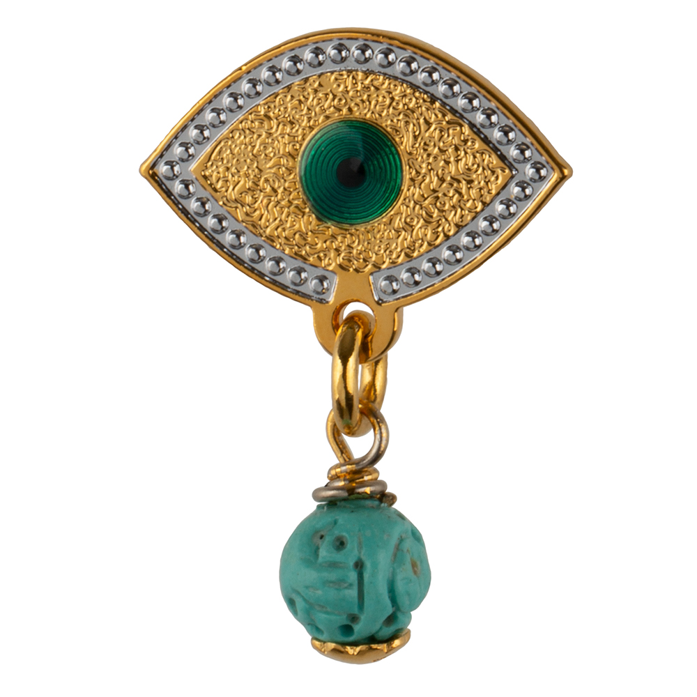 Pendiente Lucky Turquoise